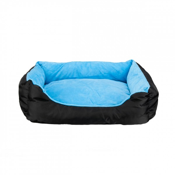 Hundebett Nappy Blue