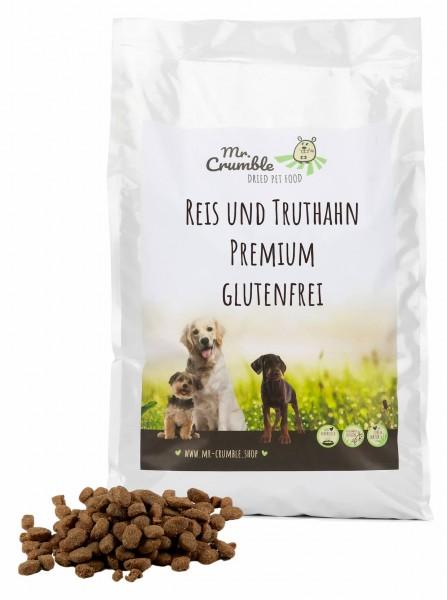 Premium-Futter mit Reis und Truthahn (glutenfrei)